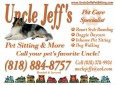 Uncle Jeff's Pet Sitting and More