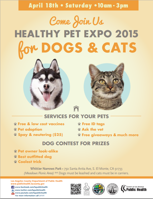 Healthy Pet Expo 2015 For Dogs Amp Cats Los Angeles Dog