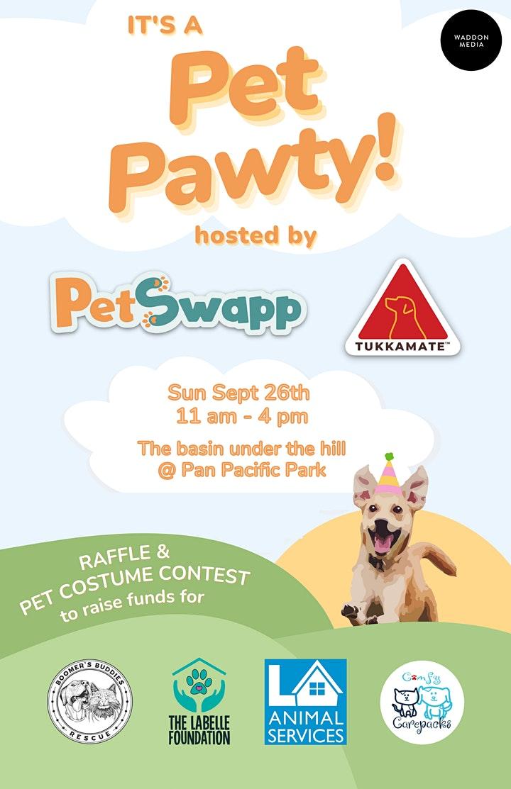Pet Pawty @ Pan Pacific Park